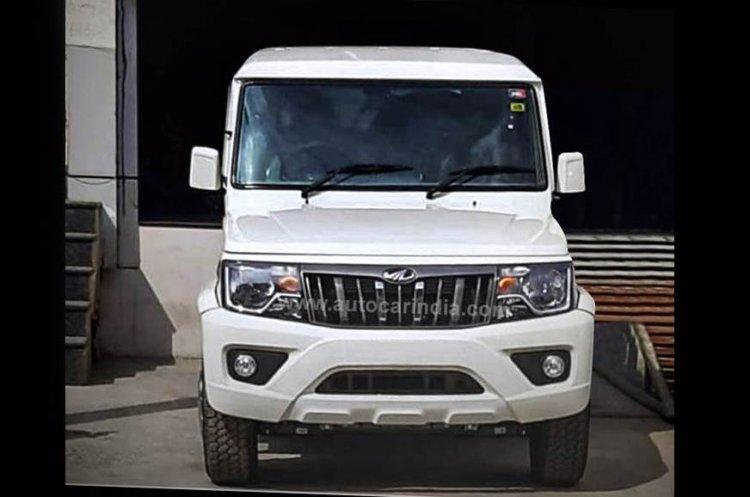 2020 mahindra bolero power facelift front Image2