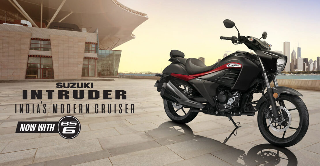 BS6 Suzuki Intruder Launched India Featured Image