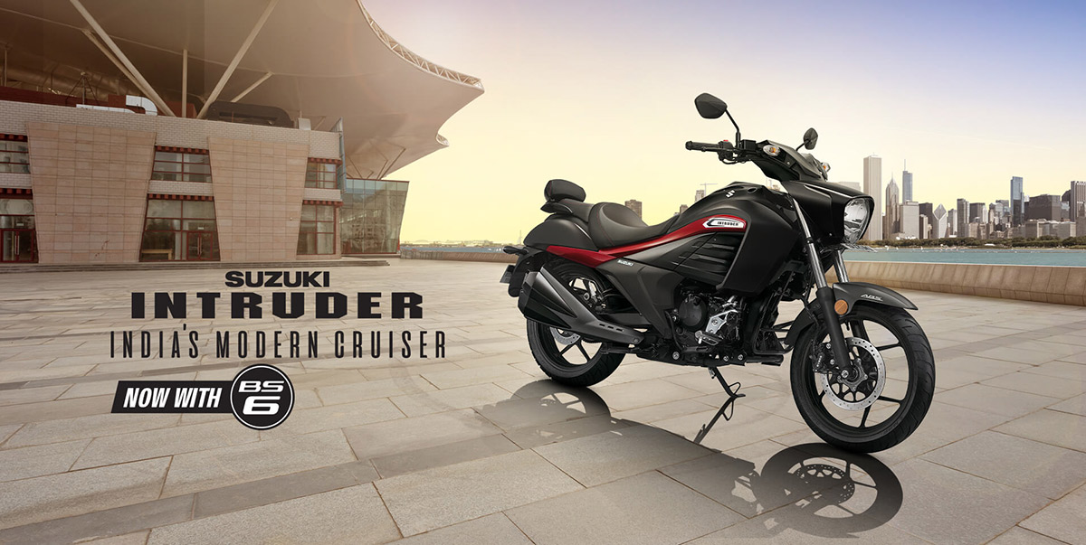 BS6 Suzuki Intruder Launched India Image1