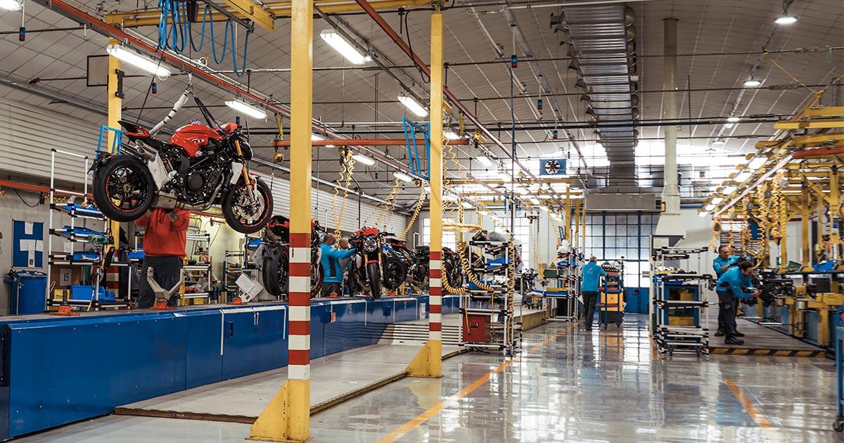 MV Agusta Production Plant Italy Open Coronavirus Featured Image