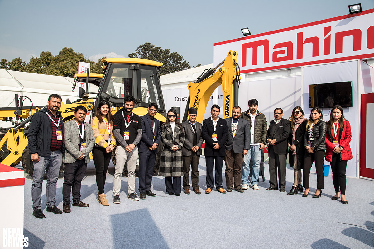 Mahindra MV Dugar Construction Equipment Nepal Buildcon 2020 Image2