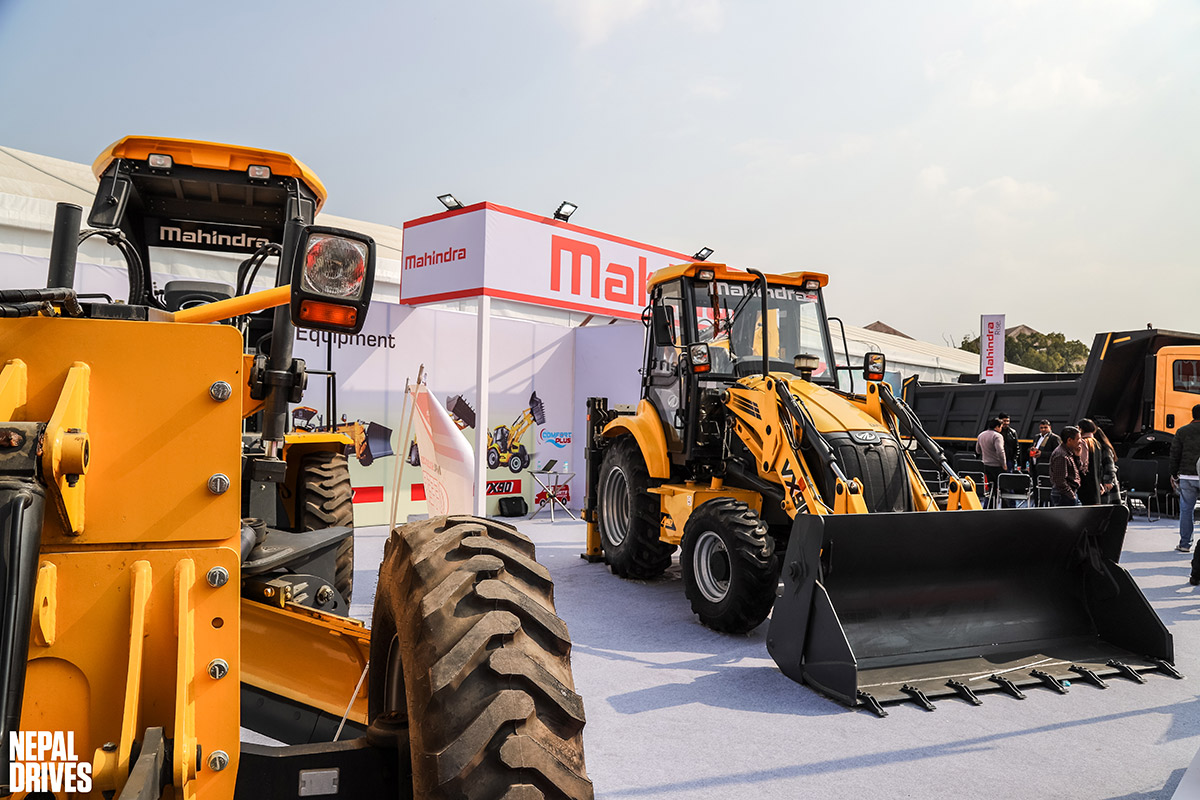 Mahindra MV Dugar Construction Equipment Nepal Buildcon 2020 Image3