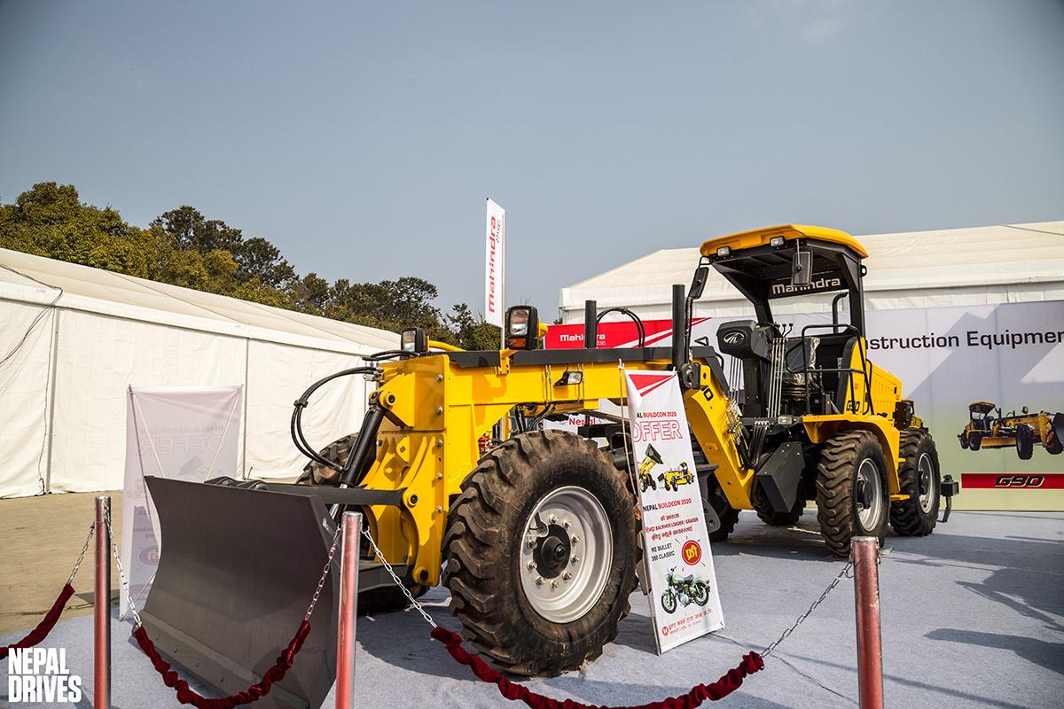 Mahindra MV Dugar Construction Equipment Nepal Buildcon 2020 Image5
