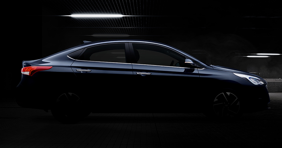 New Hyundai Verna Image Teased 2020 Featured Image