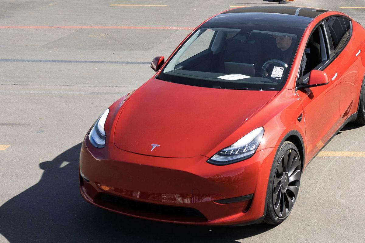 Tesla One Millionth Car