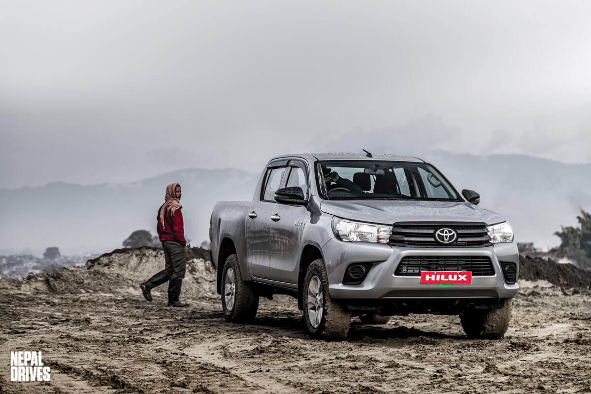 Toyota Hilux 2019 Nepal Test Drive Review Image1