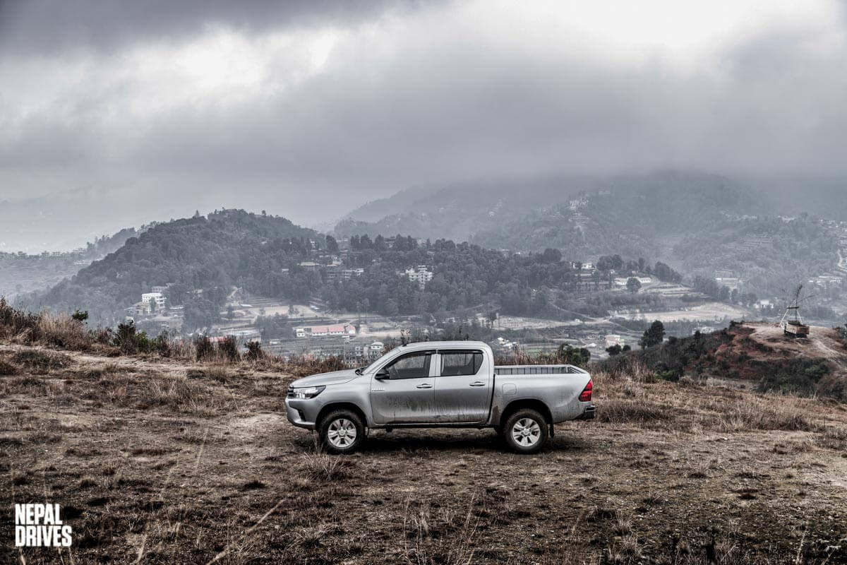 Toyota Hilux 2019 Nepal Test Drive Review Image2