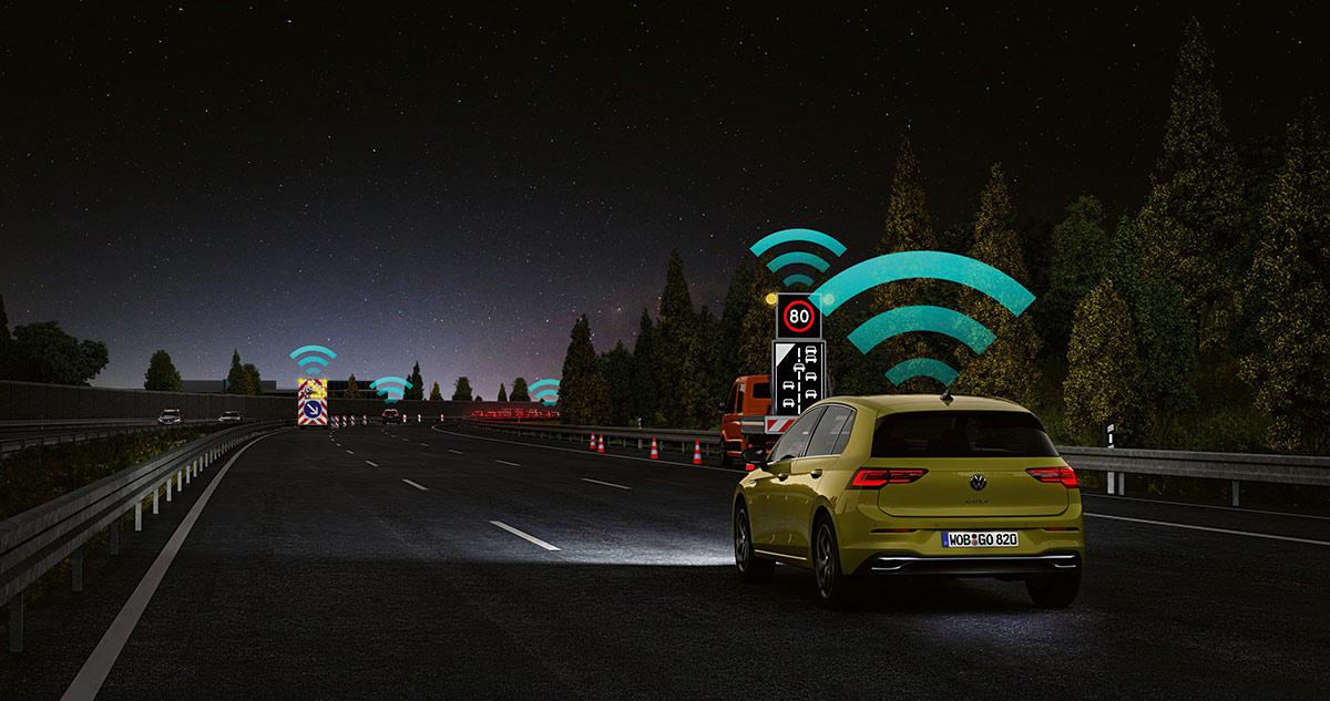 Volkswagen Car2X technology Image1