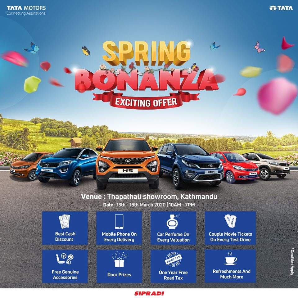 tata motors nepal spring bonanza offer image1