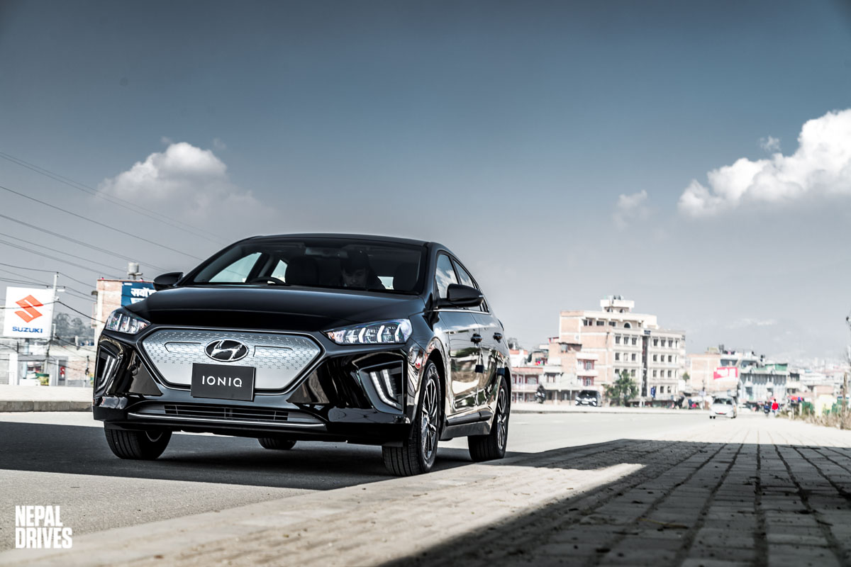 2020 Hyundai Ioniq Nepal Test Drive Review Price Image23