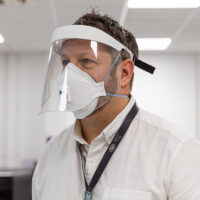 JLR 3D PRINTED PROTECTIVE VISORS Featured
