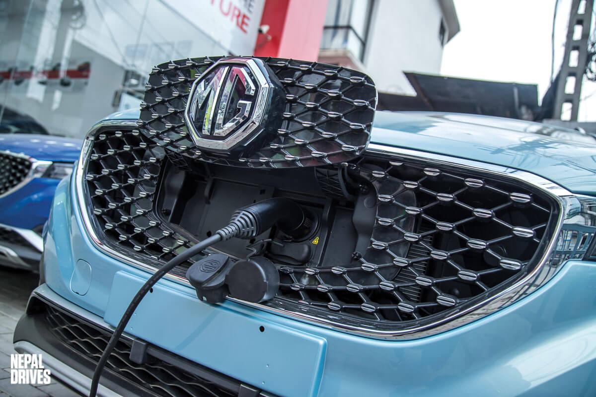 MG ZS EV Nepal Test Drive Review Price Image 8