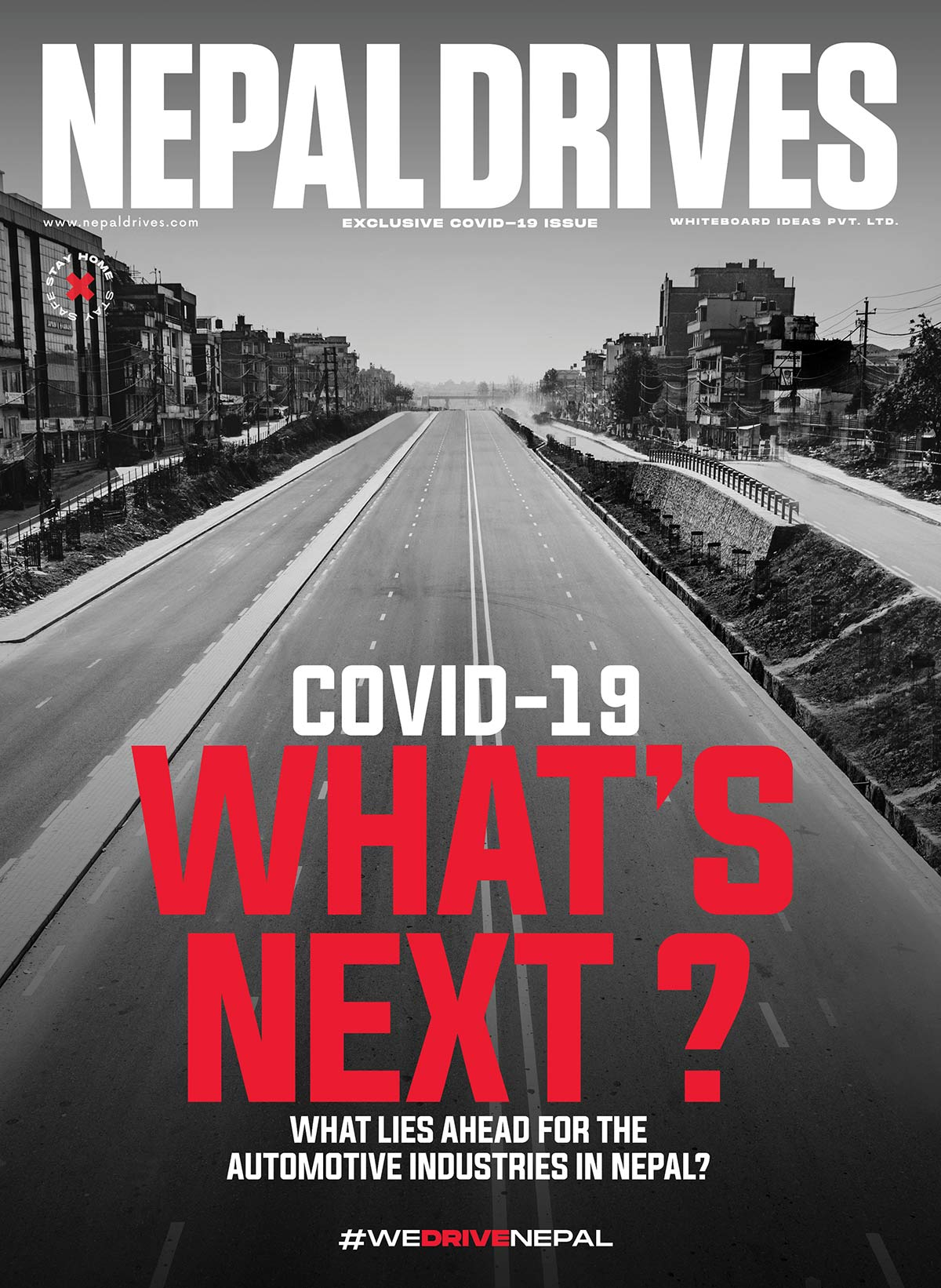 Nepal Drives Covid19 Special Issue Cover