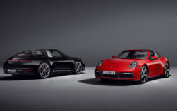 porsche 911 targa virtual launch featured image