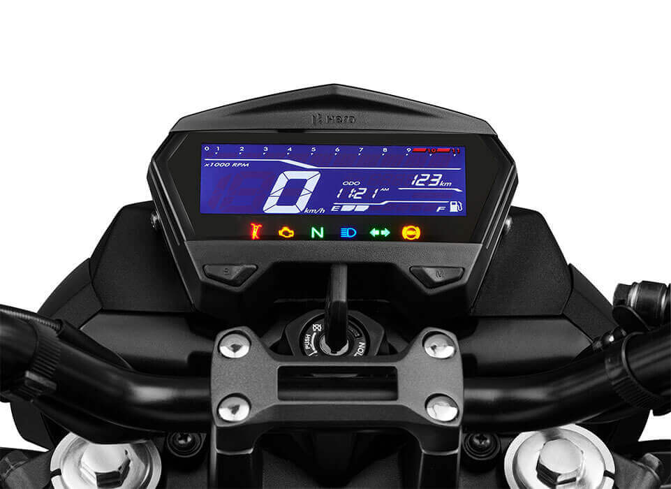 Hero Xtreme160R Negative Display Console