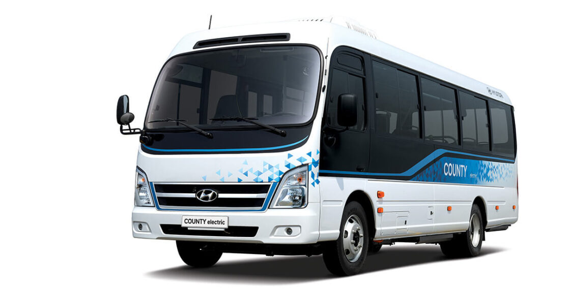 Hyundai Motor County Electric Minibus Featured Image