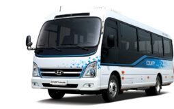 Hyundai Motor County Electric Minibus Featured Image