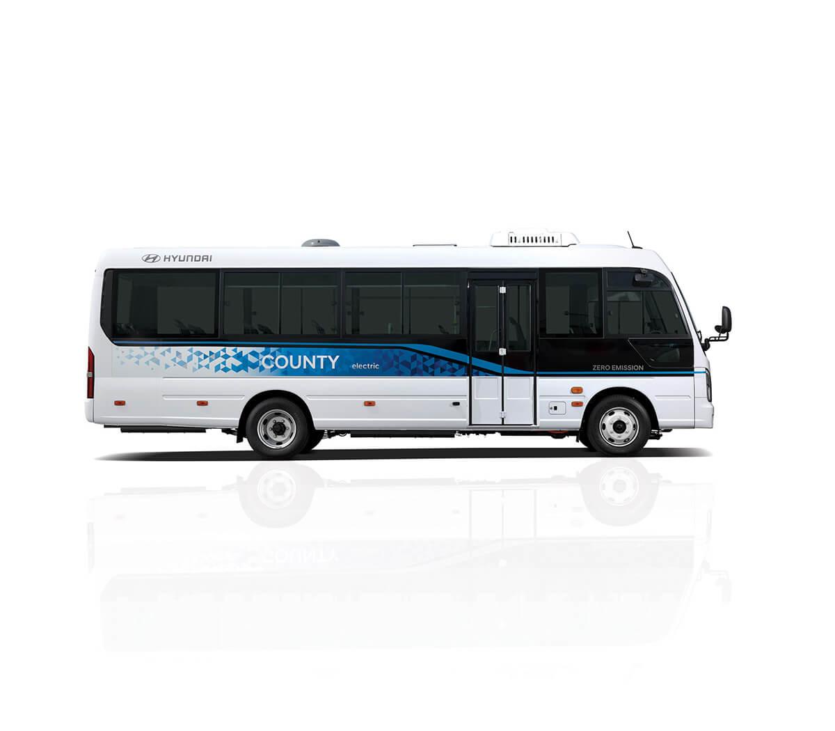 Hyundai Motor County Electric Minibus Image2
