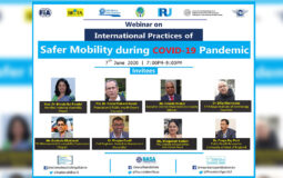 NASSM Organises a Webinar on International Practices for Safer Mobility During COVID 19 Featured Image