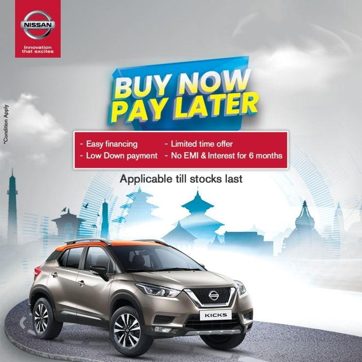 Nissan Nepal Buy Now Pay Later Image1