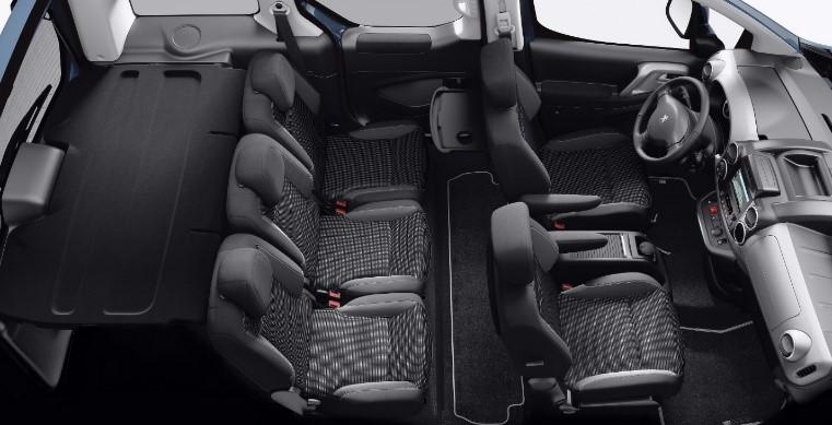 Peugeot Partner Tepee EV Nepal Pre budget offer Interior Image1