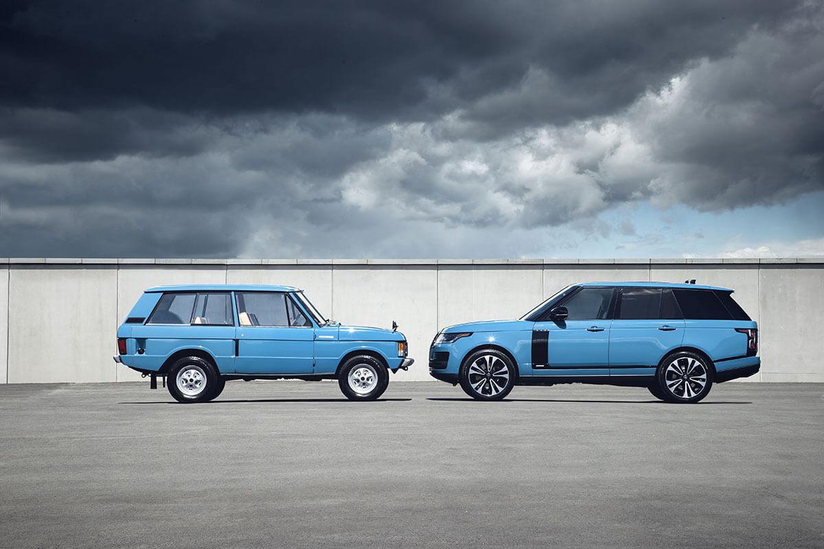 Range Rover Marks 50 Years Of All Terrain Innovation And Luxury With Exclusive New Limited Edition 4