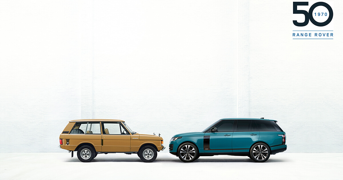Range Rover Marks 50 Years Of All Terrain Innovation And Luxury With Exclusive New Limited Edition Featured Image