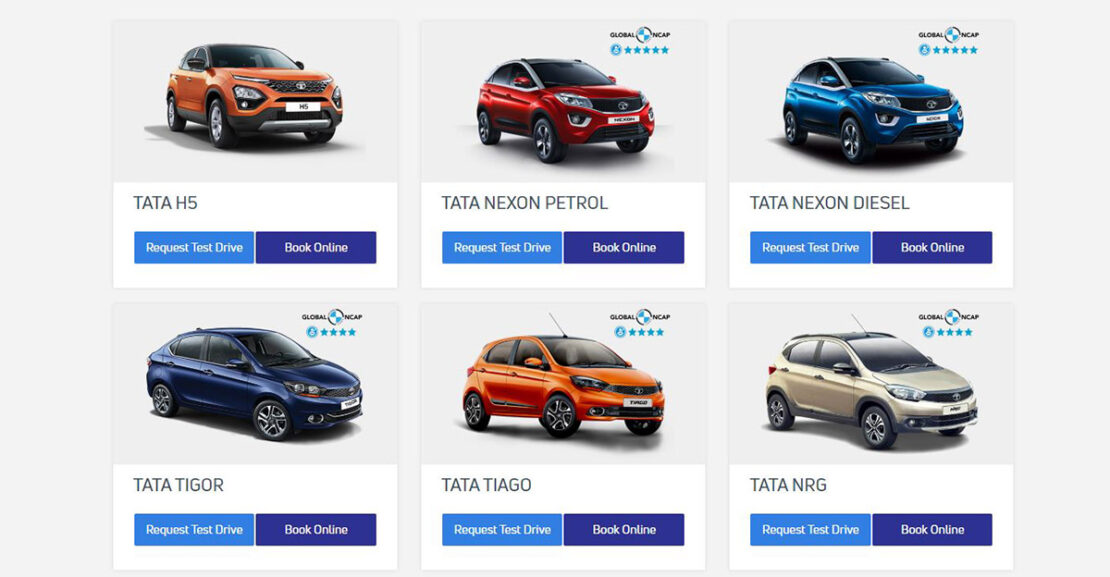 tata cars online car sales platform featured image