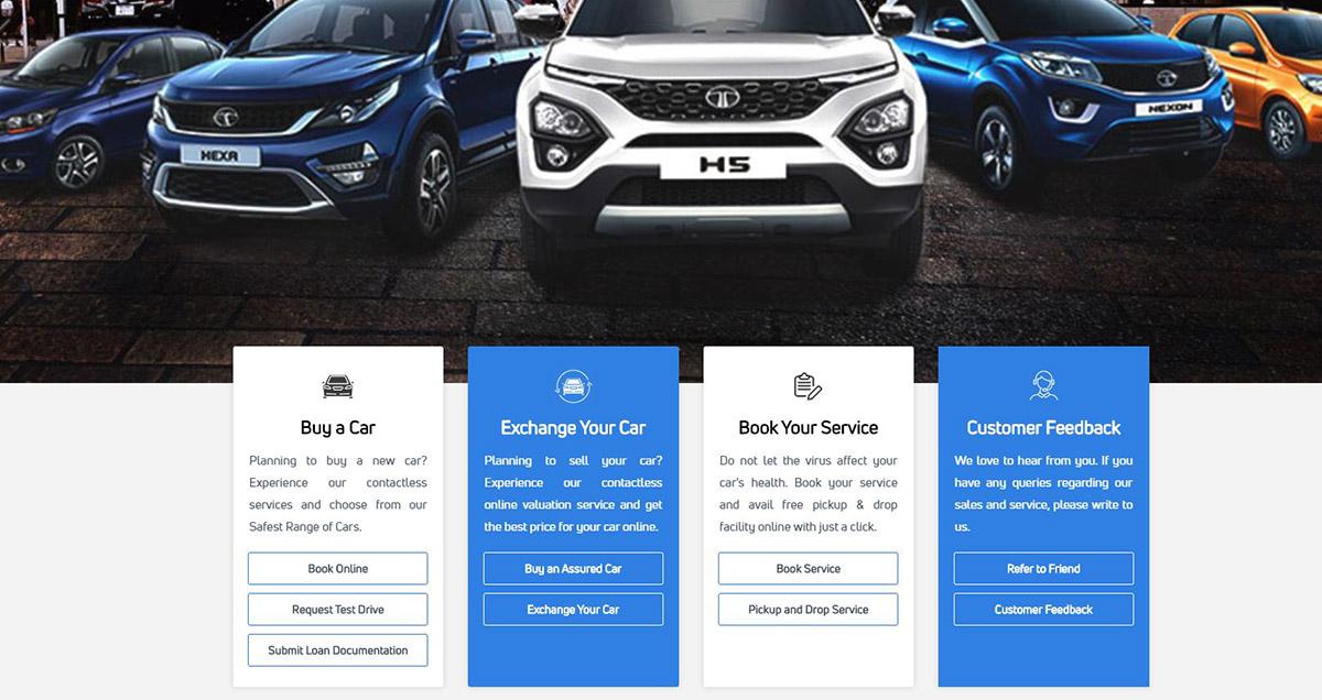 tata cars online car sales platform image1