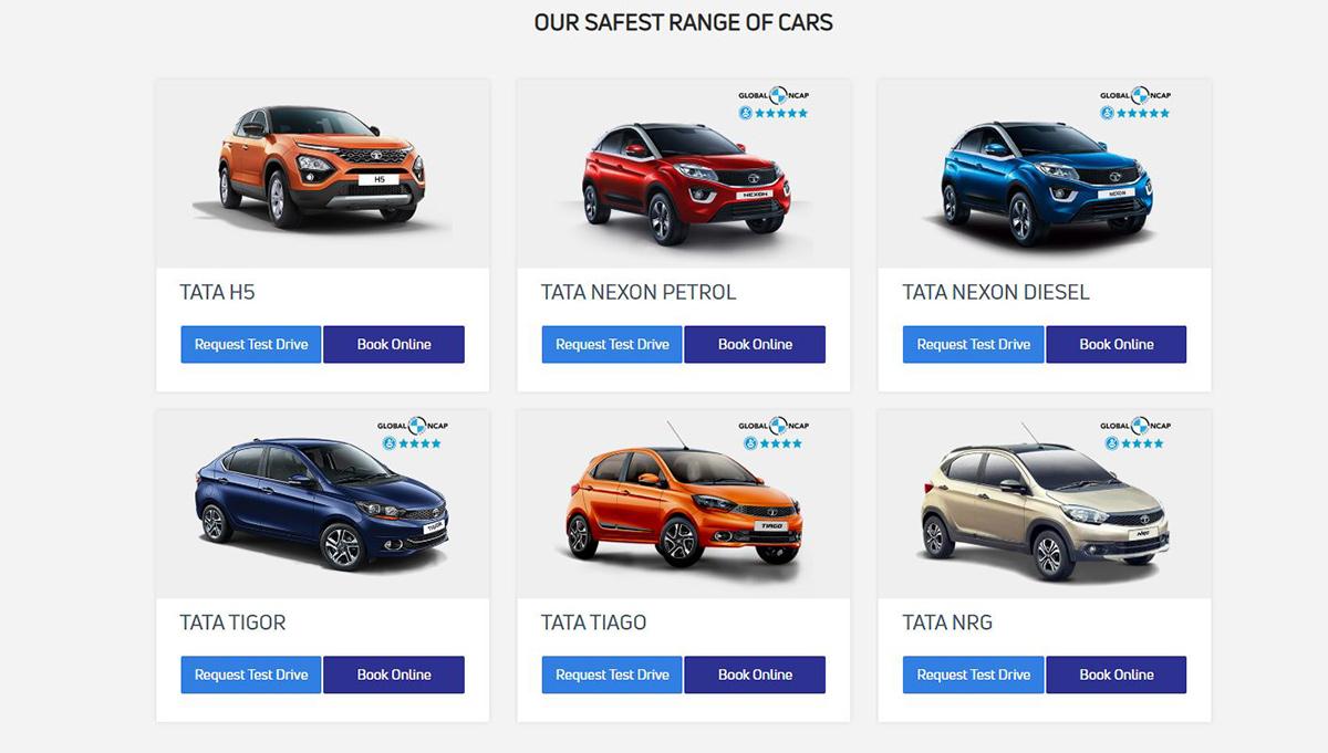 tata cars online car sales platform image3
