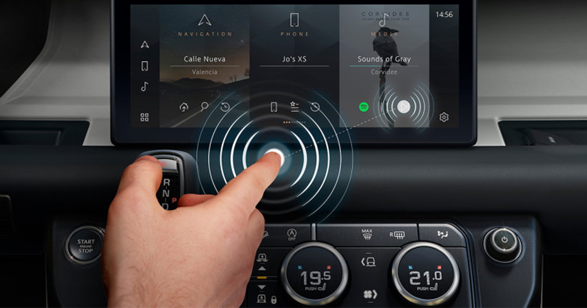 Jaguar Land Rover Cambridge Touchless Touchscreen Featured Image
