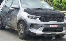 Kia Sonet Spied Featured Image