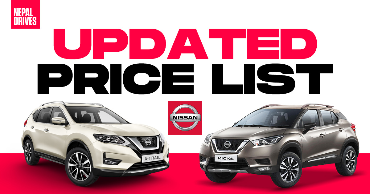 Updated Nissan Cars Price In Nepal Nepal Drives