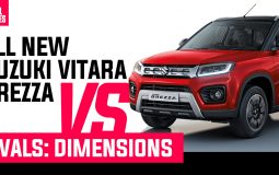 Suzuki Vitara Brezza VS Rivals Dimensions Featured Image