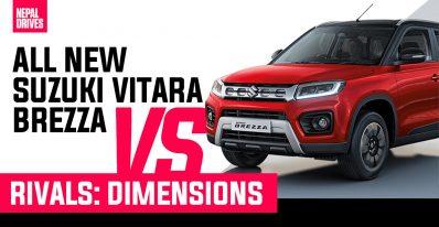 Suzuki Vitara Brezza VS Rivals Dimensions Featured Image