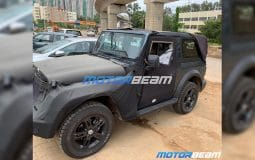 All New Next Gen 2020 Mahindra Thar Spied Featured Image