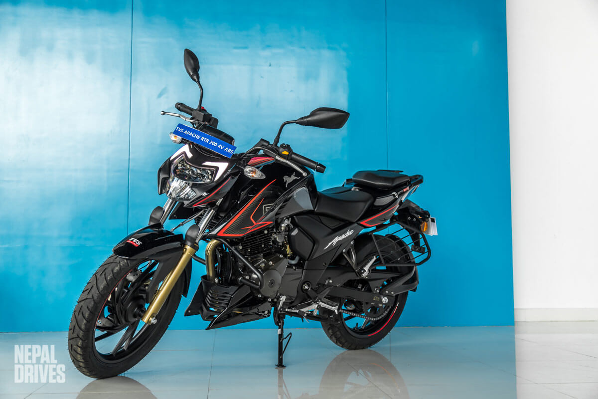 BS6 TVS Apache RTR 200 4V ABS Nepal Launch Soon Price Image1