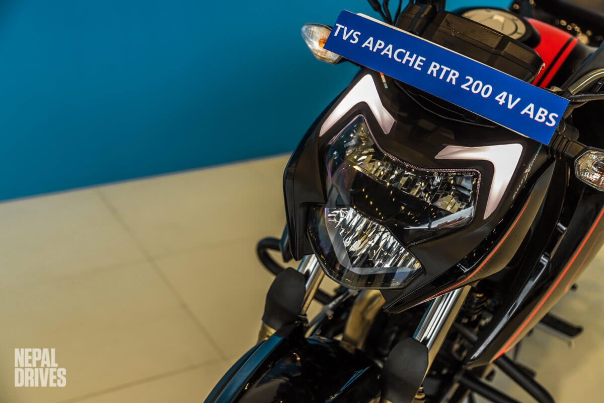 BS6 TVS Apache RTR 200 4V ABS Nepal Launch Soon Price Image3