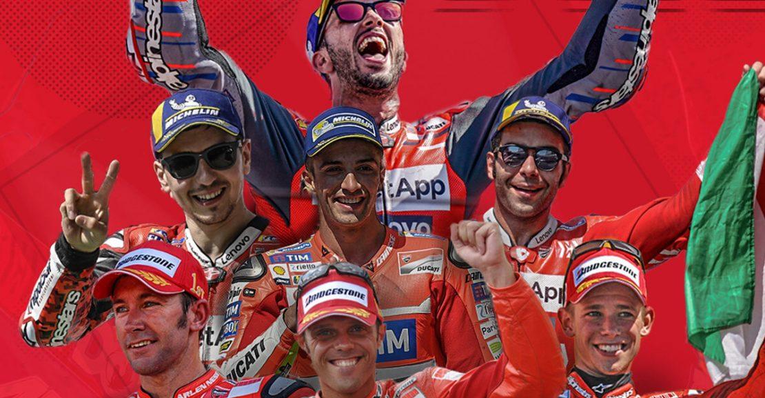 Ducati 50 MotoGP Wins Featured Image
