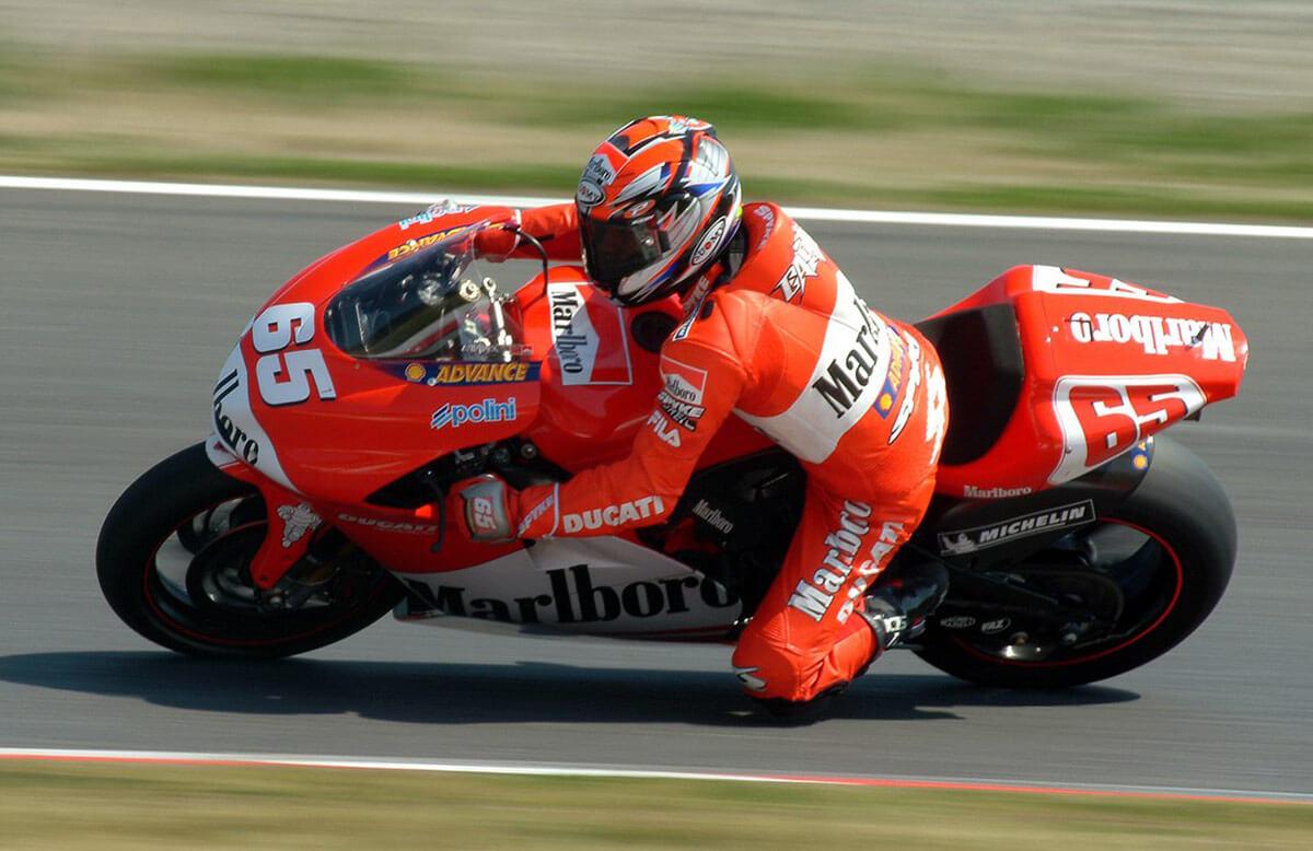 Ducati 50 MotoGP Wins Loris Capirossi Image1