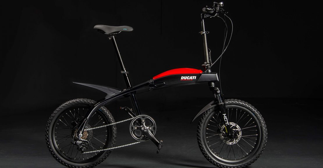Ducati MT Distribution Folding ebikes featured image