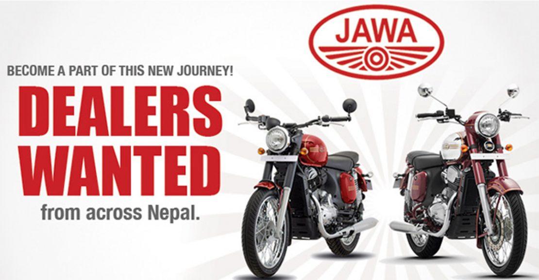 Jawa motorcycle nepal featured image