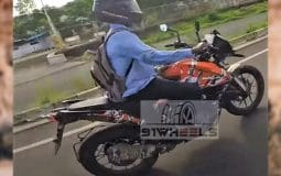 KTM 250 Adventure Spotted Testing In India Featured Image