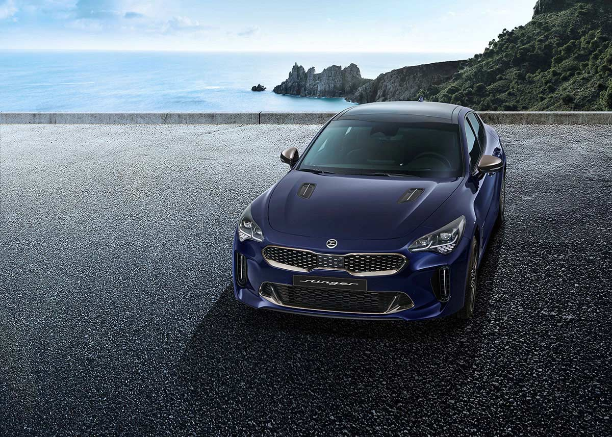 Kia Stinger Facelift 5