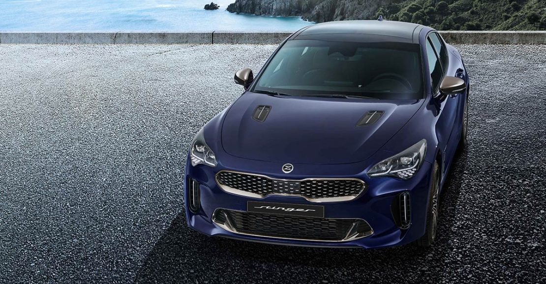 Kia Stinger Facelift Featured Image