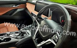MG Gloster Interior Spied Featured Image