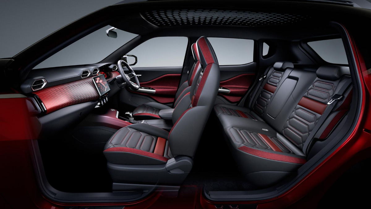 Nissan Magnite Interior Images Revealed 1