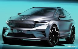 Skoda Enyaq iV Official Sketch Featured Image