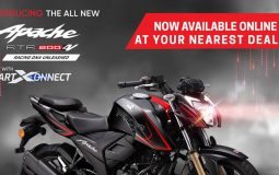 TVS Apache RTR 200 4V BS6 ABS Nepal Launch Featured Image