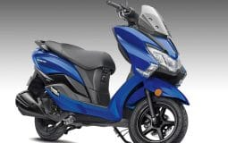 2020 Suzuki Burgman Street Pearl Medium Blue Color India Featured Image